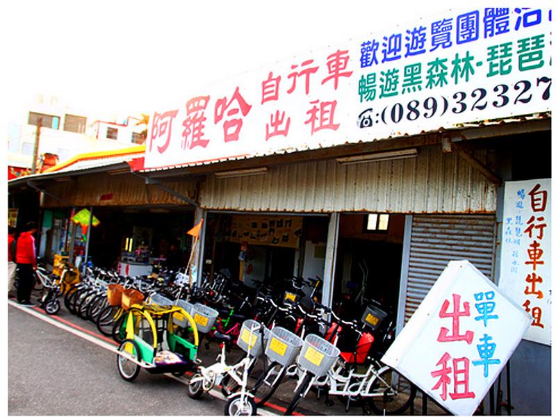 台東單車出租‧阿羅哈自行車出租